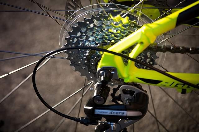 Cambio della bicicletta