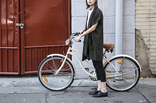 Sella bici da donna
