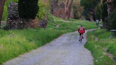 Bici su Appia antica